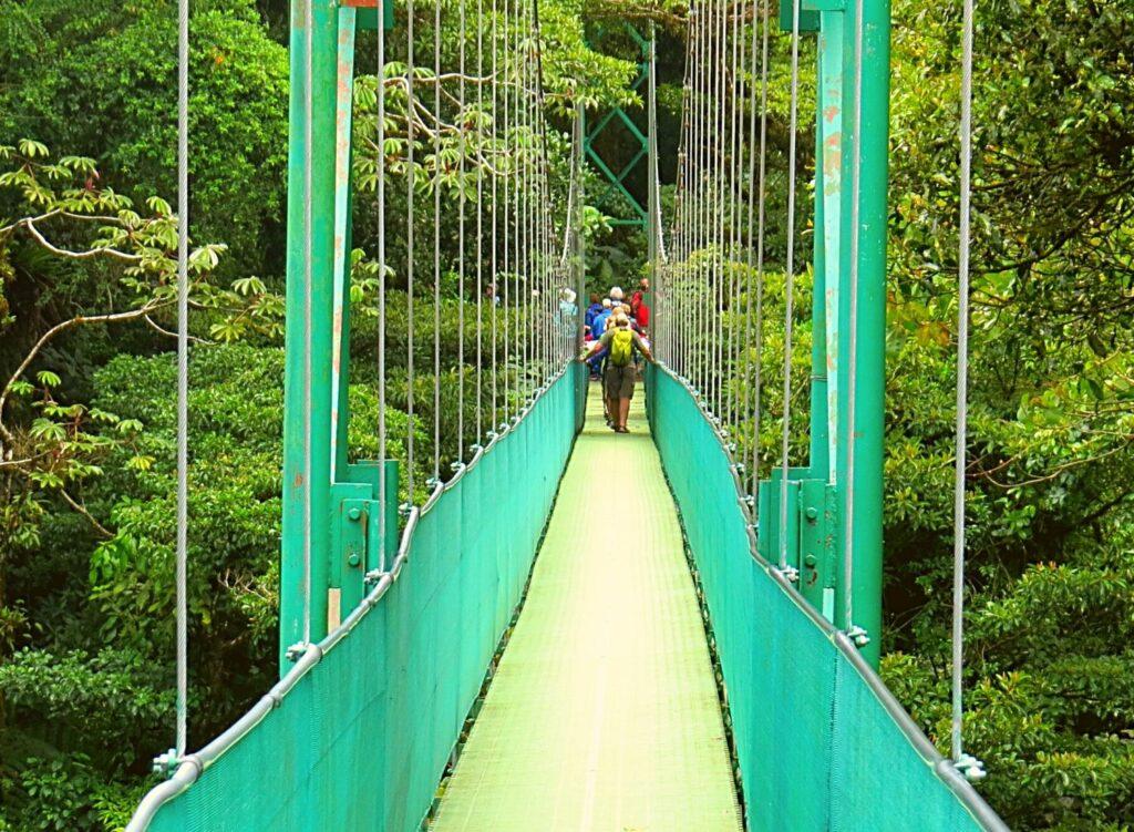Travel around Costa Rica - Hanging Bridges